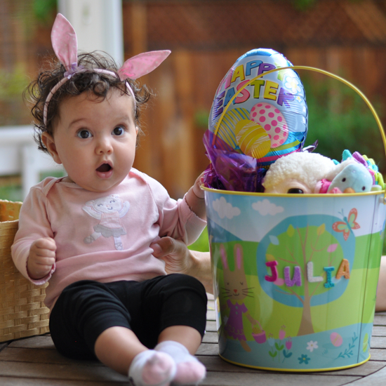 Babys first easter