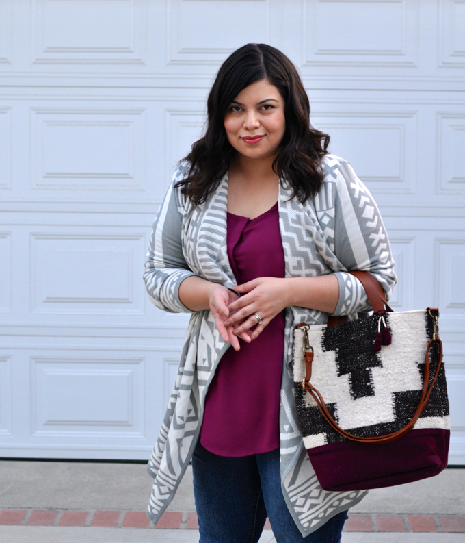 plus size cardigan