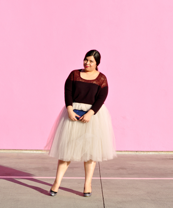 plus size fashion: holiday outfit
