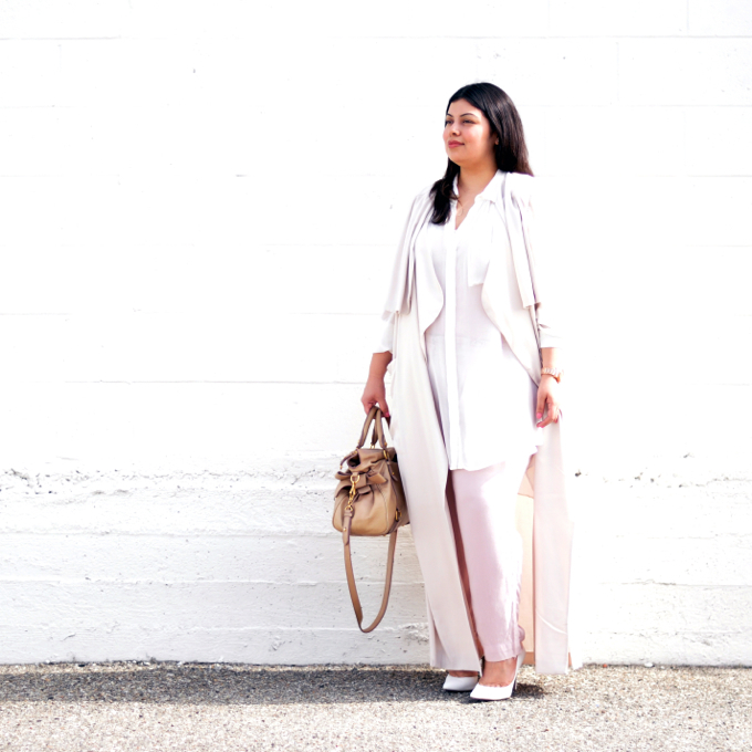 Plus size fashion blogger Jay Miranda